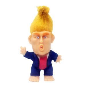 2020 President Donald Trump Troll Doll Miniature Good Luck Dolls Crafts Toy