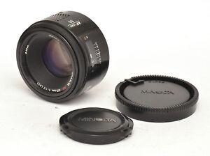 Minolta Maxxum AF 50mm F1.7 Lens For Sony Alpha Mount! Good Condition!