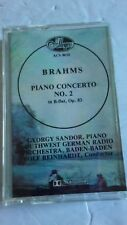 *RARE* Brahms~Piano Concerto No.2 Cassette Tape