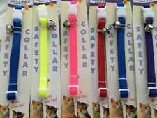 Cat Collars New w/Tags Set of Six