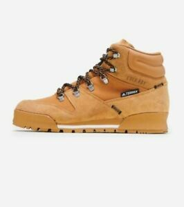 AUTHENTIC ADIDAS TERREX SNOWPITCH WINTER HIKING SHOES MEN WHEAT - SIZE 9