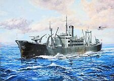 New IJN Food Supply Ship IRAKO Comsn Ver Full Hull-PIT-ROAD 1/700 Model Kit W178