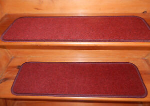 "9"" x 30"" Step 100% FLEXIBLE Vinyl Outdoor/ Indoor Stair Treads Choice Step"
