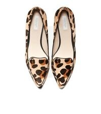 COLE HAAN Dellora Skimmer Animal Print Loafers 8.5 Womens