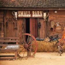 10x10ft Scarecrow Huts Photography Backdrop Scenic Photo Background