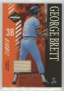 2003 Leaf Limited Timber Bats /25 George Brett #168 HOF