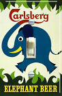 Carlsberg Elephant Beer Vintage Poster Single Switch Plate ***FREE Shipping***