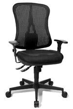 Chaise de bureau noir en acier pour la maison