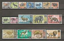 More details for kenya 1966/71 sg 20/35 used cat £23