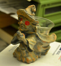 Witch Gargoyle Votive Candle Holder