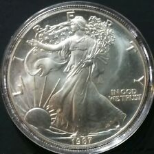 American Eagle 1 Oz. .999 Silver Dollar Uncirculated BU 1987