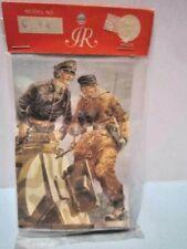 "Vintage Imrie/Risley 1/32 Scale (54Mm) "" Wwii German Tank Crew C44 "" Plate # 82"