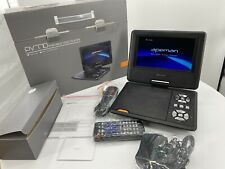 Apeman Pv770 Portable Dvd Video Player. 7.5� Swivel Screen Built In Rechargeable