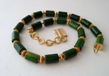 Vintage Signed GIVENCHY Authentic Green BAKELITE Collar Necklace