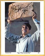 "Richard Kiel ""Jaws"" 8x12 Signed Photo James Bond 007 Spy Who Loved Me"
