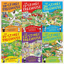 Andy Griffiths Treehouse Series Collection 6 Books Set (78-Storey Treehouse) NEW