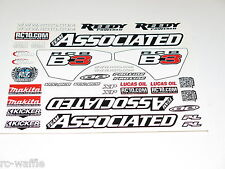ASC80935 TEAM ASSOCIATED RC8 B3.1 BUGGY DECALS