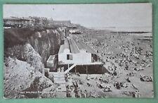 "Black & white postcard, CLIFTONVILLE, Kent, ""Walpole Bay"" -1920s"