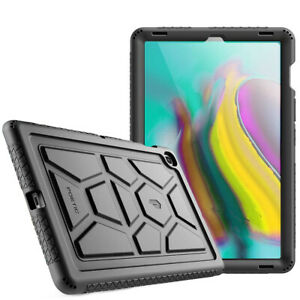 For Galaxy Tab S5E 2019 Tablet Case Silicone Shockproof Protective Cover Black
