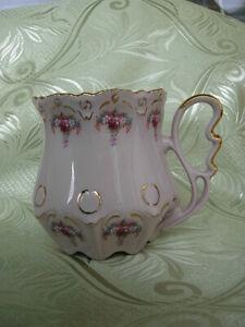 CARLSBAD ORIGINAL PINK PORCELAIN  TEA CUP  CZECHIA #7