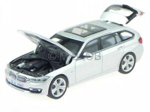 BMW F31 3er Touring glacier silver diecast model car 1/43