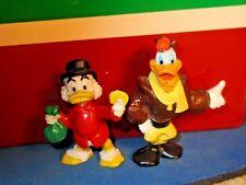 "Disney Dagobert Scrooge McDuck Duck Tales PVC Bullyland Marx plastic Figure 1.5"""