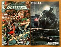 DETECTIVE COMICS 1032 2020 Main Cover + Lee Bermejo Variant Set DC NM