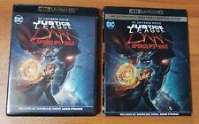 Justice League Dark Apokolips War (4K Ultra Hd and Blu-Ray, 2020) - No Digital