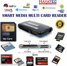 SmartMedia Memory Card Reader Writer USB Adapter SM SD CF TF XD Windows Mac UK