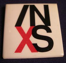 INXS KICK CONCERT TOUR BUTTON 1988