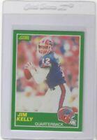 1989 Score Jim Kelly Buffalo Bills #223 Original Modern HOF