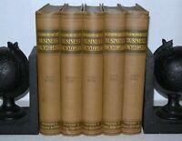 Harmsworths Business encyclopedia - 5 Volume Set, Hardback, Circa 1920's+