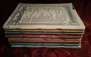 Readers Digest Reading Copy Lot 1940