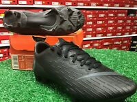 New In Box Nike Vapor 12 PRO FG Blacked Out Soccer Cleats Size 5