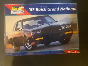 '87 Buick Grand National Revell Model 1:24 Sealed
