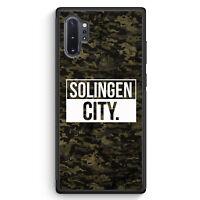 Solingen City Camouflage Samsung Galaxy Note 10+ Plus Silikon Hülle Motiv Des...