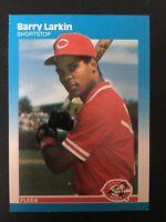 1987 FLEER Baseball Card. BARRY LARKIN #204. Cincinnati Reds