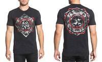 Xtreme Couture Men's Shock Trooper Tee Shirt Black Reactive