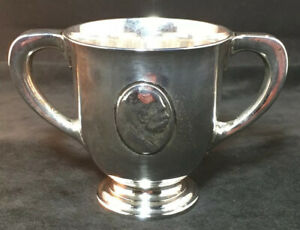 Gorham Sterling Silver Small Loving Cup Trophy Howard Heinz Ketchup Medallion