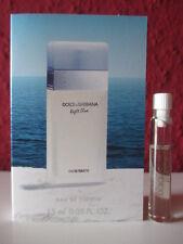 🌹 DOLCE & GABBANA ~ light blue ~ Eau de Toilette Parfum Probe für SIE NEU/OVP