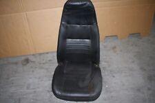 Jeep Wrangler YJ 87-95 OEM FRONT SEAT. Seat black vinyl front