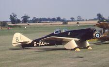 Original 35mm Aircraft slide Miles M.2L Hawk Speed Six #52