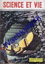 Science et vie 411 12/1951 Renault Billancourt Mine Poule Trains électriques