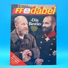 DDR FF-Dabei 07-1988 / 08.-14.02. Zeitschrift - For eyes only Zahn um Zahn