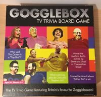 GOGGLEBOX BOARD GAME GREAT FAMILY PARTY FUN4 KIDS & ALL 100% COMPLETE