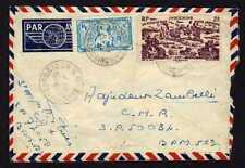 8986) INDOCHINE 1947 Aerogramme Saigon to B.P.M. 523