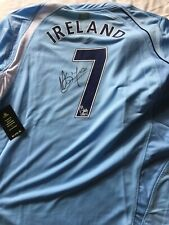 Rare Stephen Ireland Signed Manchester City 2008/09 Signed Shirt BNWT XLOfficial