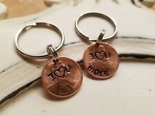 Keychain For Anniversary Or Wedding Gift. Set Of 2, Lucky Penny Keychain,