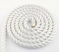 Amarre 3 torons blanc 10m - 16 mm - Charge rupture 5300kg - corde bout bateau