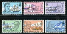 BRITISH ANTARCTIC TERRITORY MNH: Scott #76-81 Geography Society CV$2+